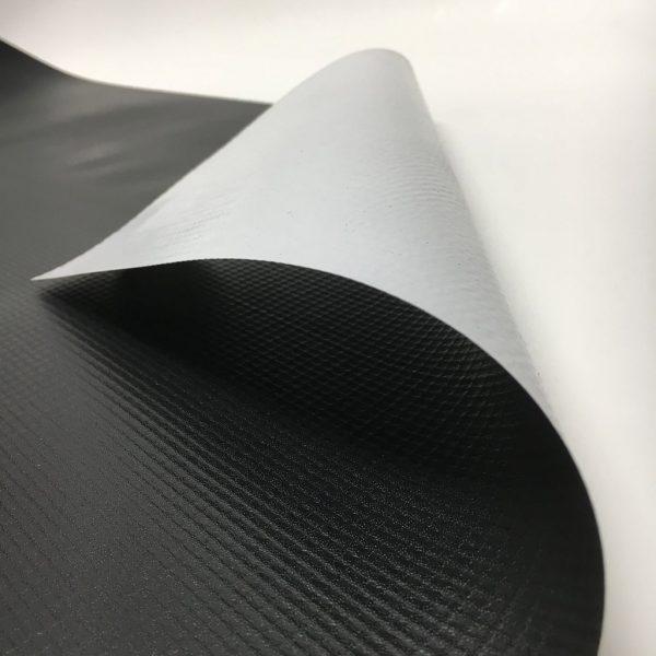 New Black/White Vinyl Tarp Close-Up