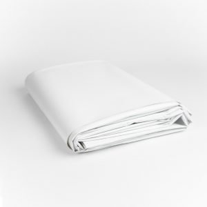 13 oz. New White Vinyl Tarp