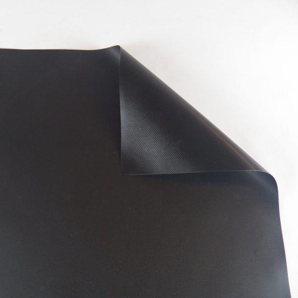 20 oz. New Black Vinyl Tarp 2