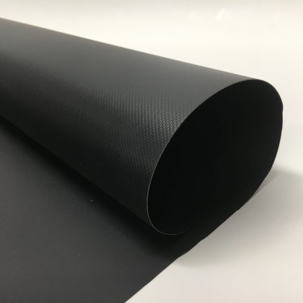 20 oz. New Black Vinyl Tarp 3