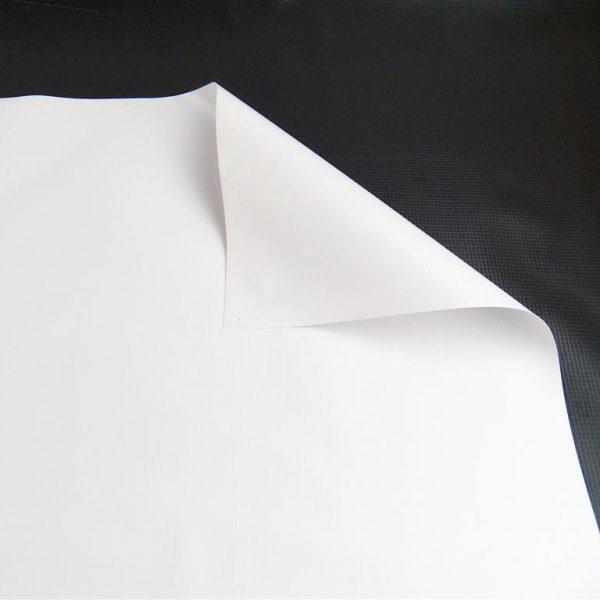 New 13 oz. White Vinyl Tarp 2