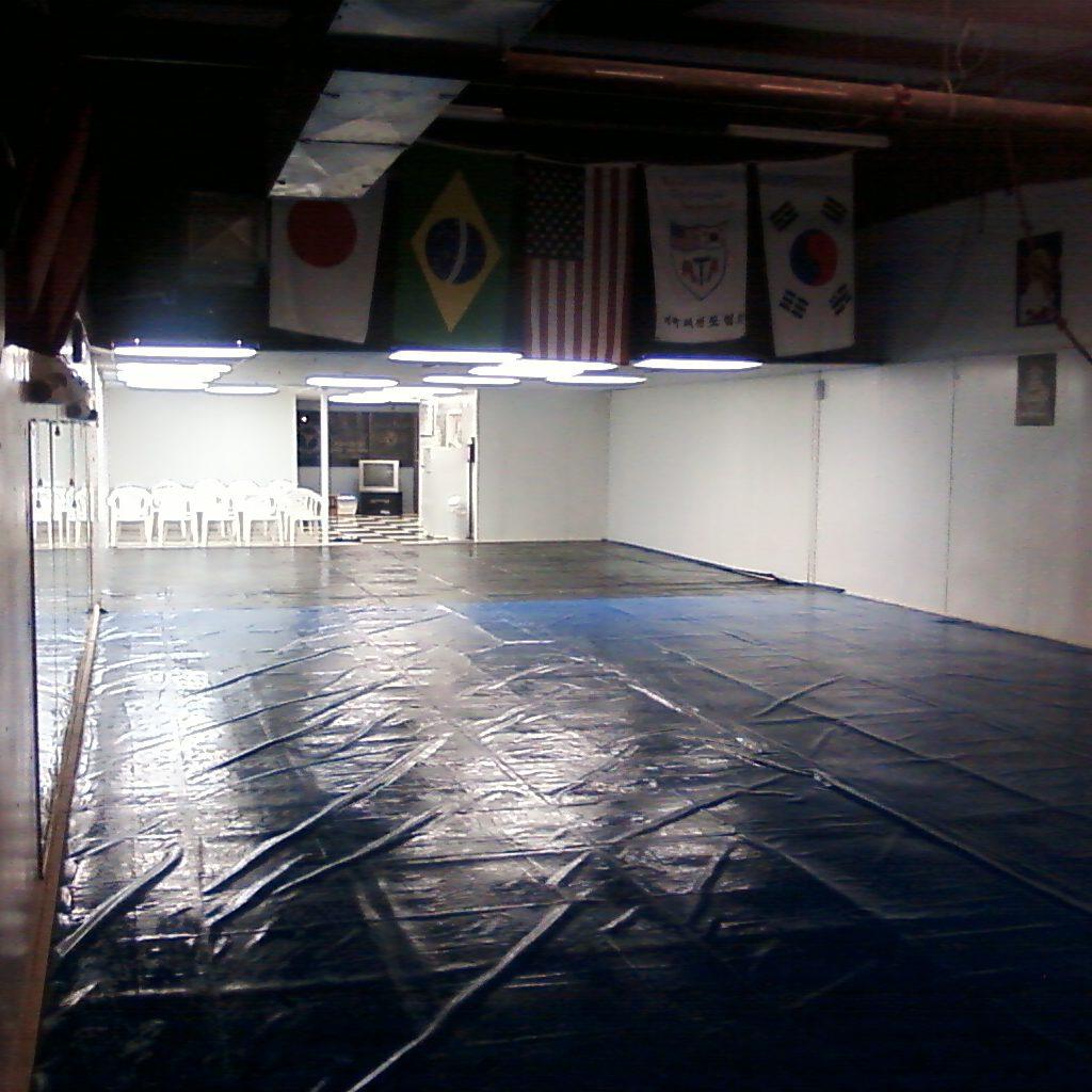 Martial Arts Floor Vinyl Billboard