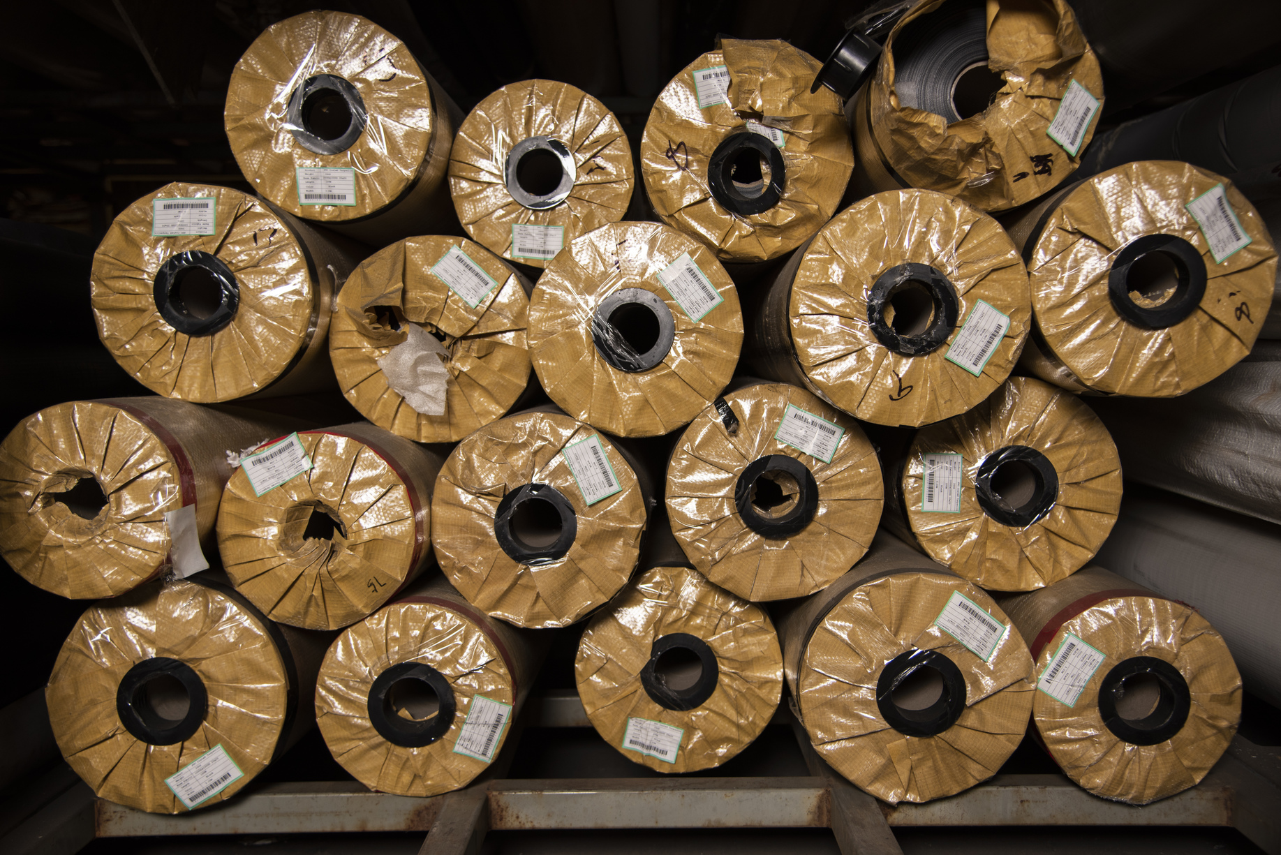 Assorted New Vinyl Rolls