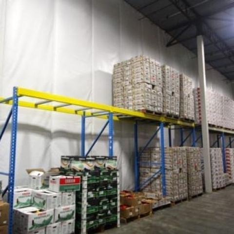 Vinyl Warehouse Divider 3