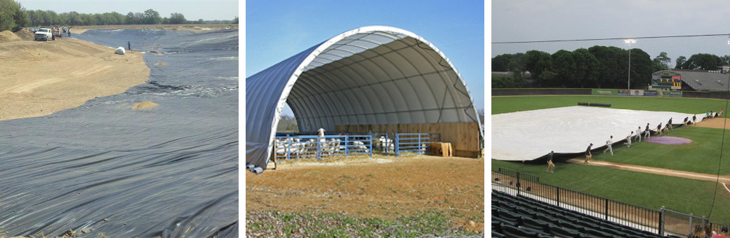Custom Vinyl Tarps Liners Covers Hoop House Greenhouse Containment Liners