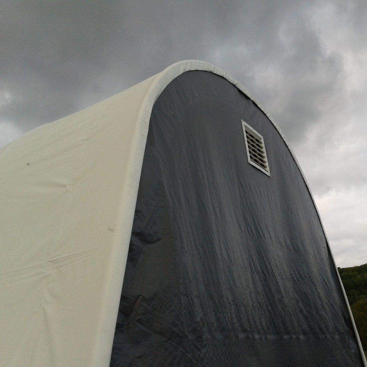 Vinyl Tarp Hoop House Shelter Round Cover Greenhouse