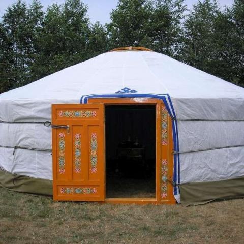 Vinyl Yurt Cover