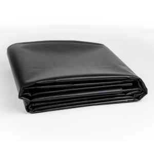 20 oz. 22 Mil Black Vinyl PVC Fish Pond Liner Tarp