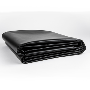 35 oz. 38 Mil Black Vinyl PVC Fish Pond Liner Tarp 2