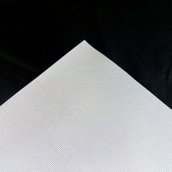 Mesh White Vinyl Tarp 1
