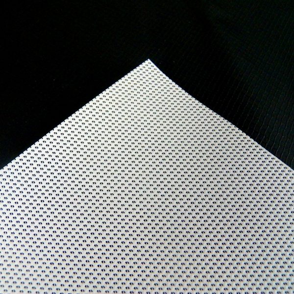 White Mesh New Vinyl Tarp 2